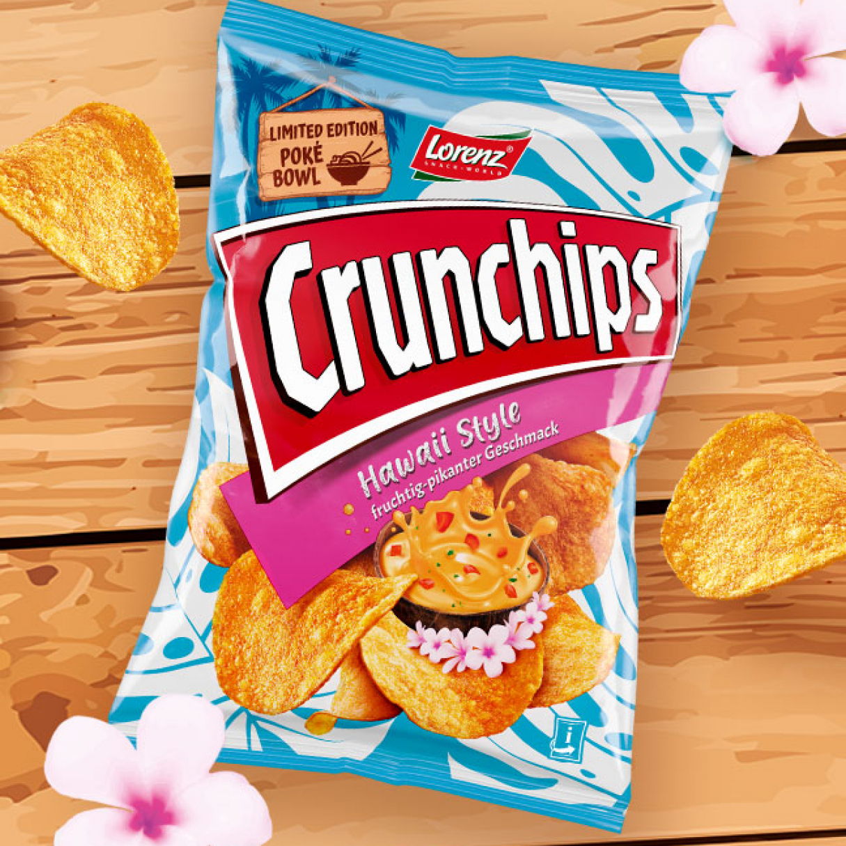 Crunchips Hawaii Style von Lorenz