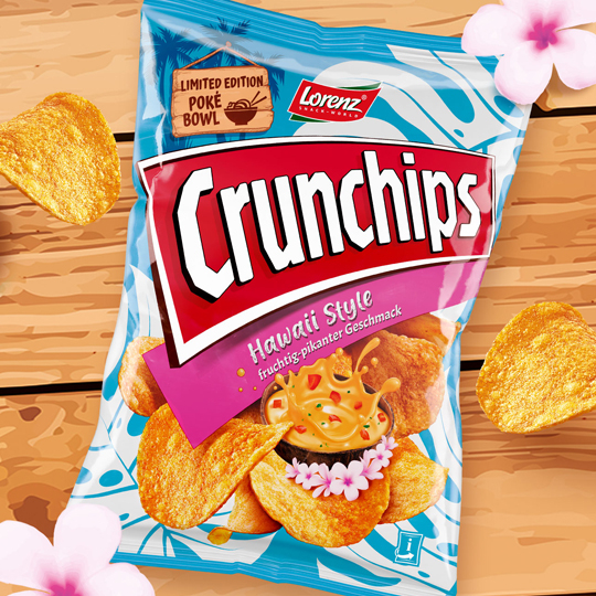 Crunchips Limited Edition Hawaii Style
